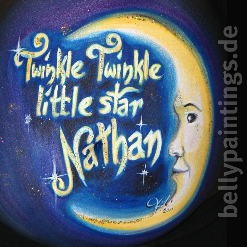 Bellypainting – Babybauchbemalung Little Star